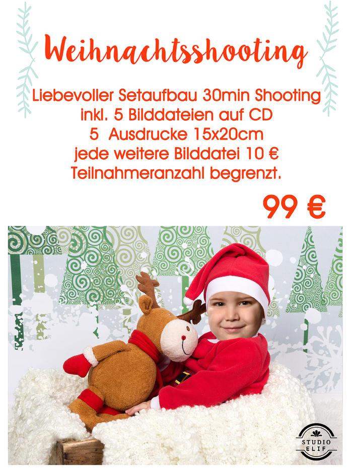 Weihnachtsshooting bei Elif