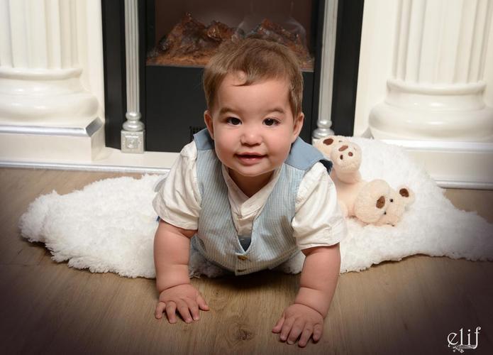 Babyfotos bei Elif